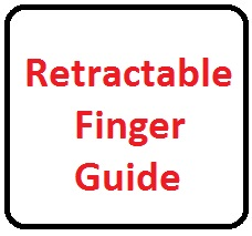 Retractable Finger Guides